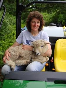 Karen and sheep 002